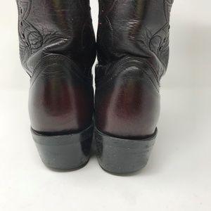 Durango Shoes - Durango Black Cherry Dragon  Cowboy Boots 10